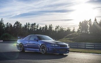 11 nissan skyline r34 hd wallpapers background images wallpaper abyss - Nissan skyline background ...
