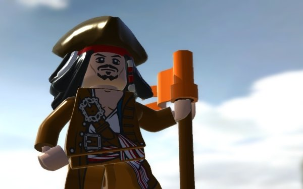 Video Game LEGO Pirates of the Caribbean: The Video Game Pirates Of The Caribbean Jack Sparrow HD Wallpaper | Background Image