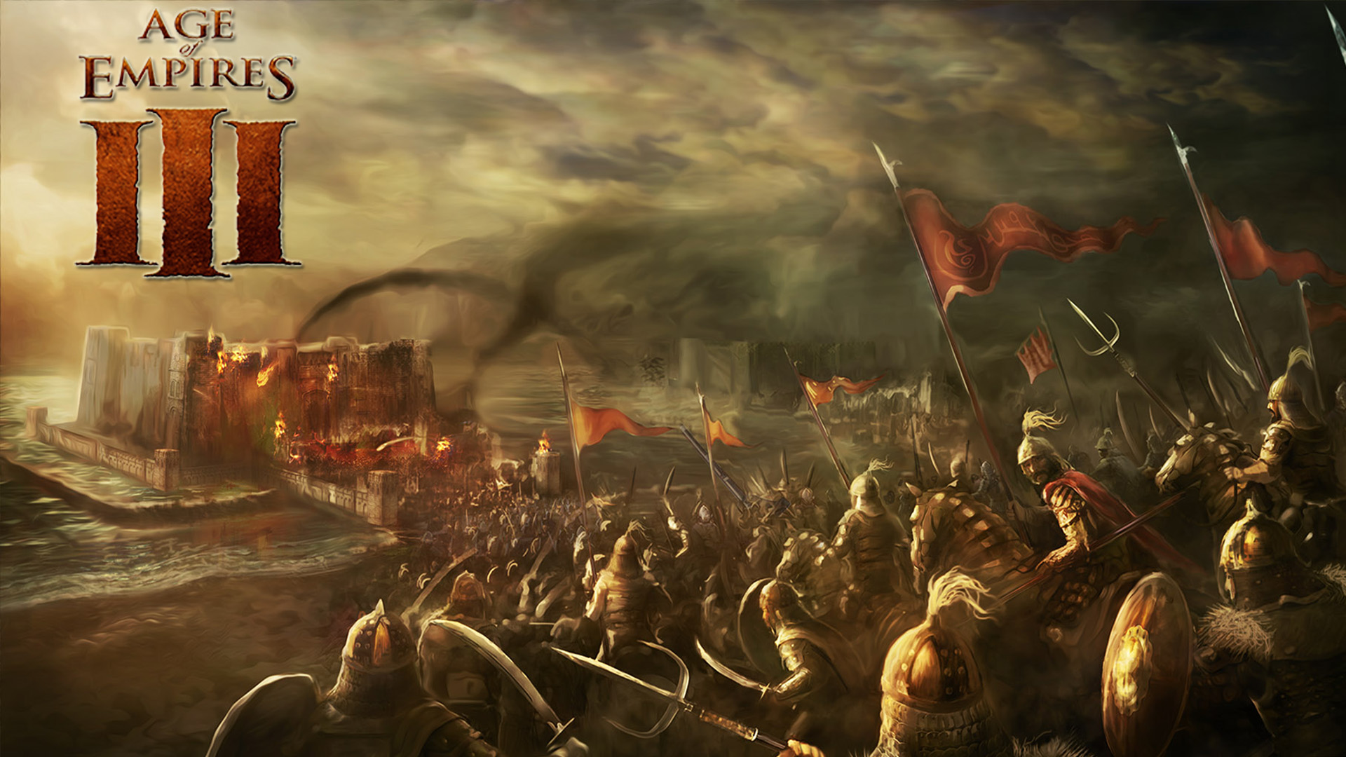Age Of Empires Wallpaper: Age Of Empires III HD Wallpaper