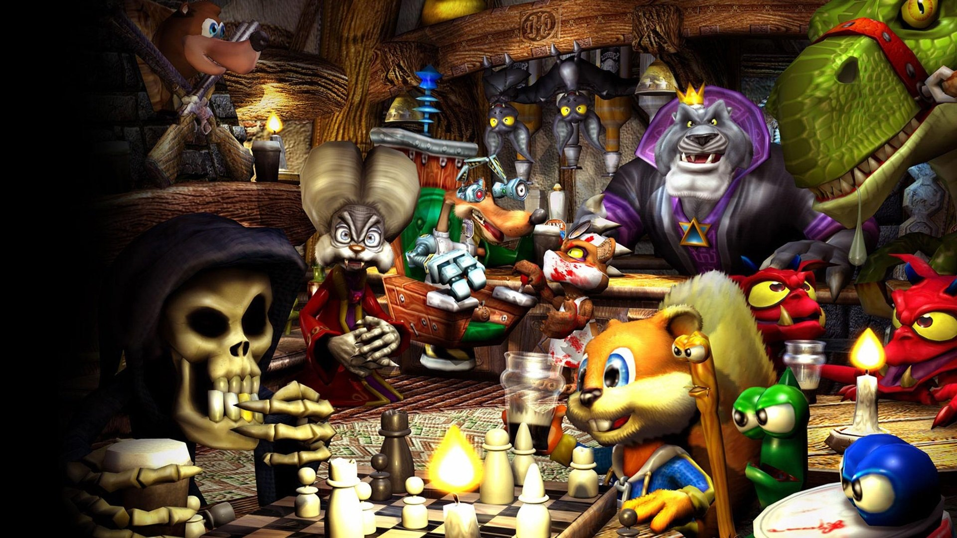 3 Conker S Bad Fur Day Hd Wallpapers Background Images