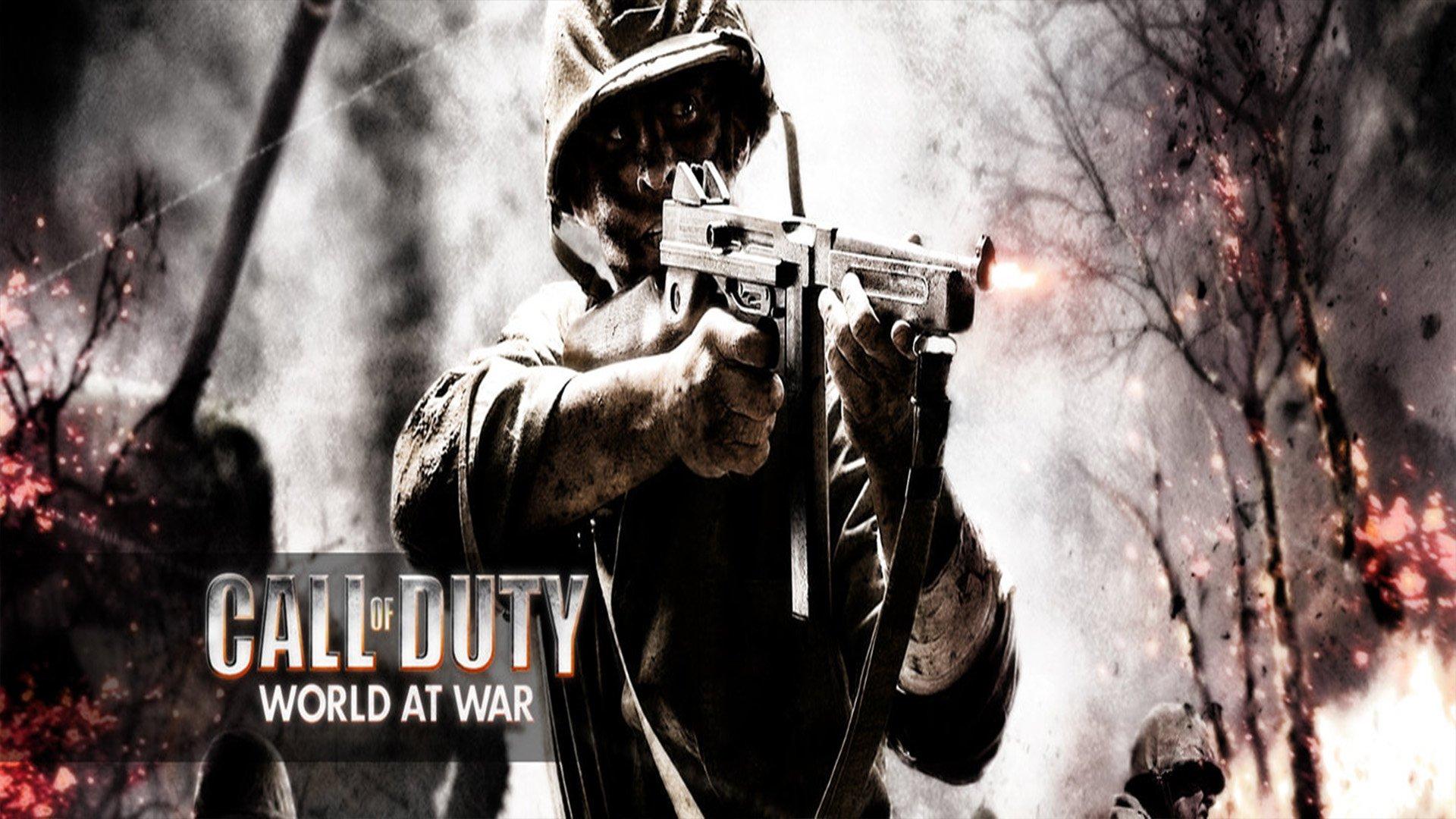 Call Of Duty World At War Wallpaper: Call Of Duty: World At War HD Wallpaper