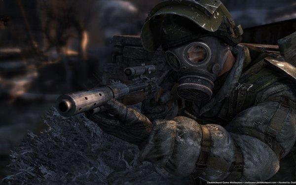 Video Game Metro 2033 Metro Gas Mask HD Wallpaper | Background Image
