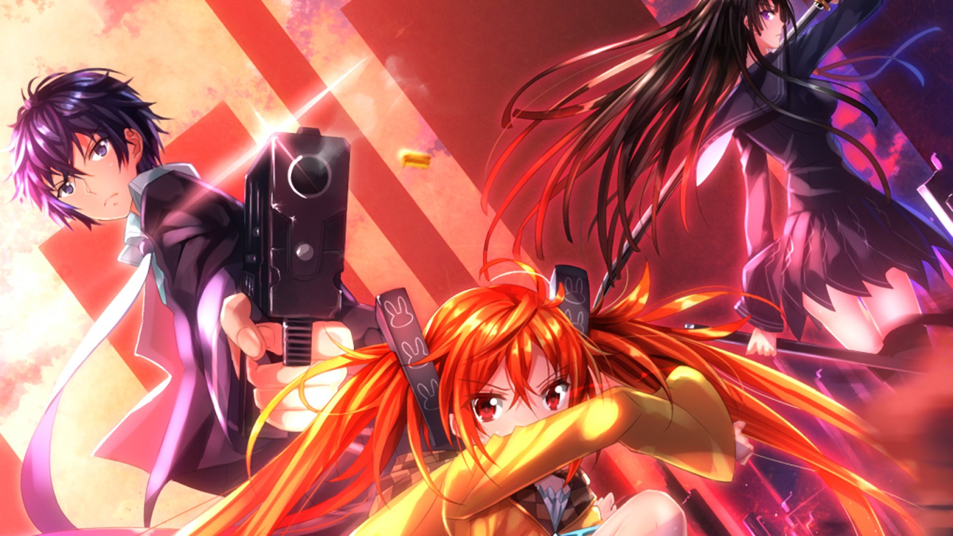 Black bullet full hd wallpaper and background image - Anime wallpaper black background ...