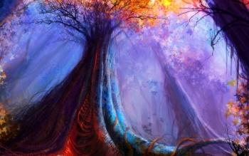 Fantasy - Skog Wallpapers and Backgrounds ID : 534140