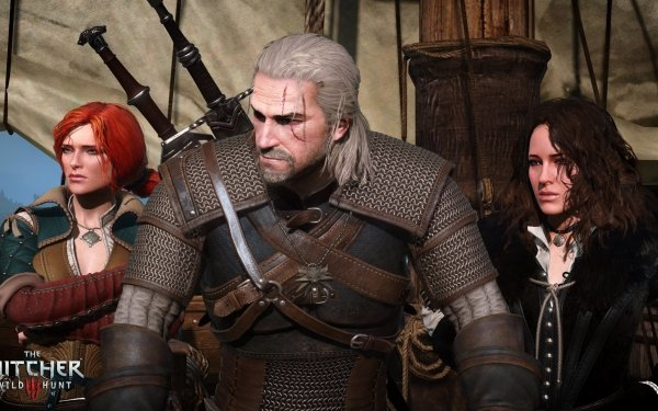 Video Game The Witcher 3: Wild Hunt The Witcher Geralt of Rivia Triss Merigold Yennefer of Vengerberg HD Wallpaper | Background Image