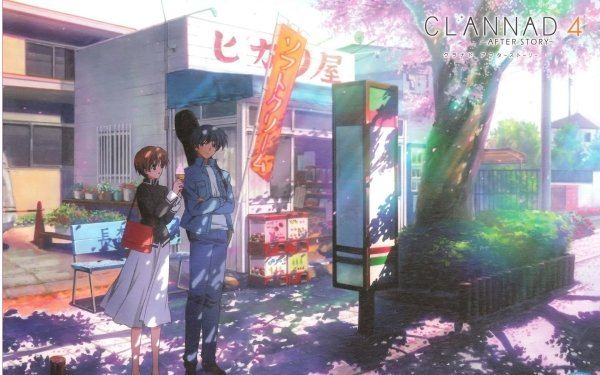 Anime Clannad Kouko Ibuki Yusuke Yoshino HD Wallpaper | Background Image