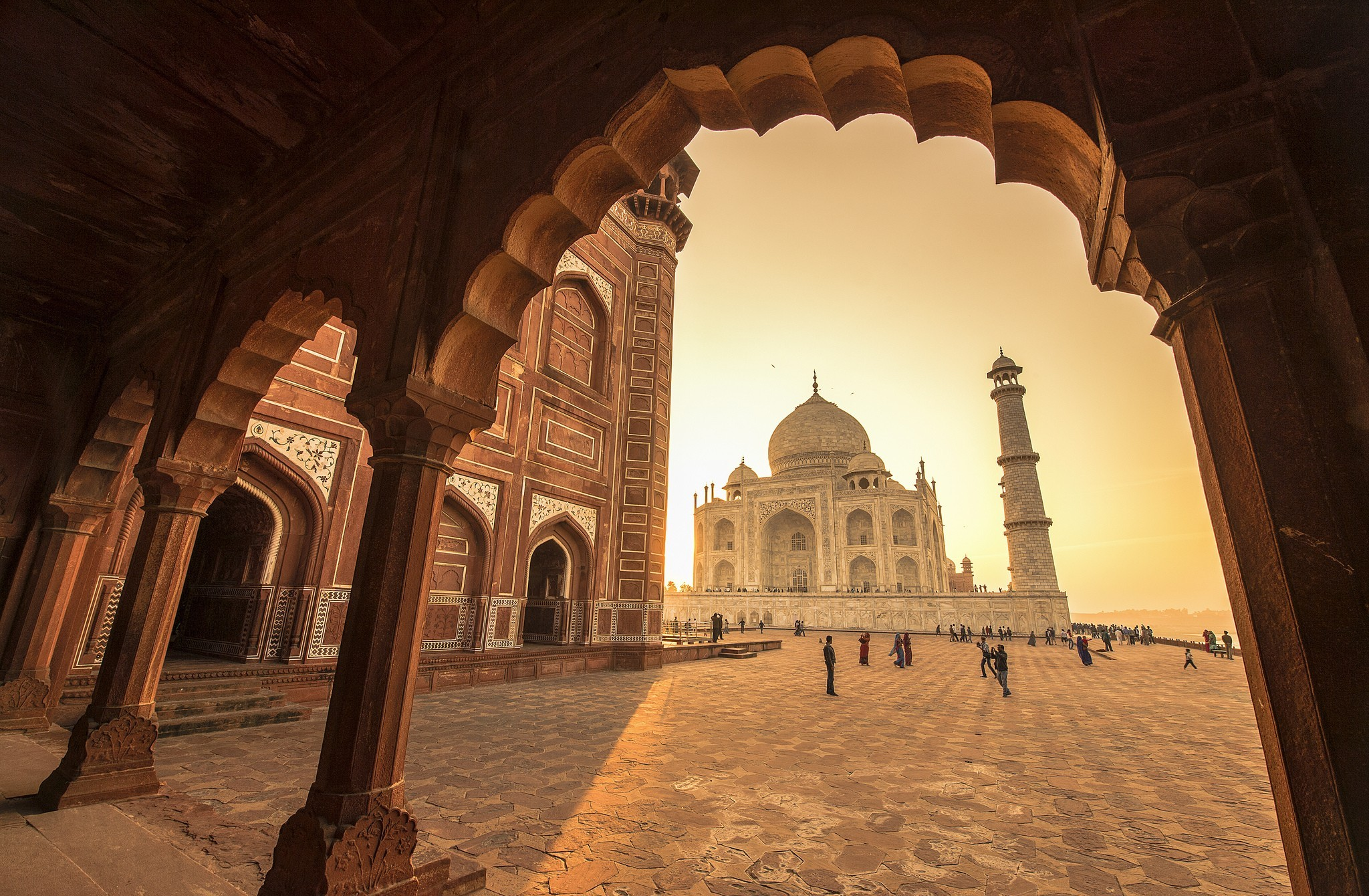 Indian Hd Backgrounds: Taj Mahal Full HD Wallpaper And Background Image