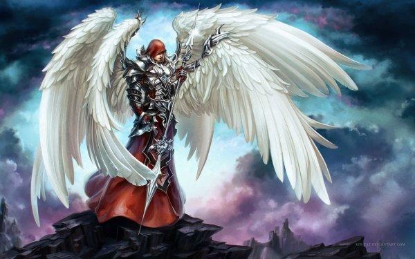Fantasy Angel Warrior HD Wallpaper | Background Image