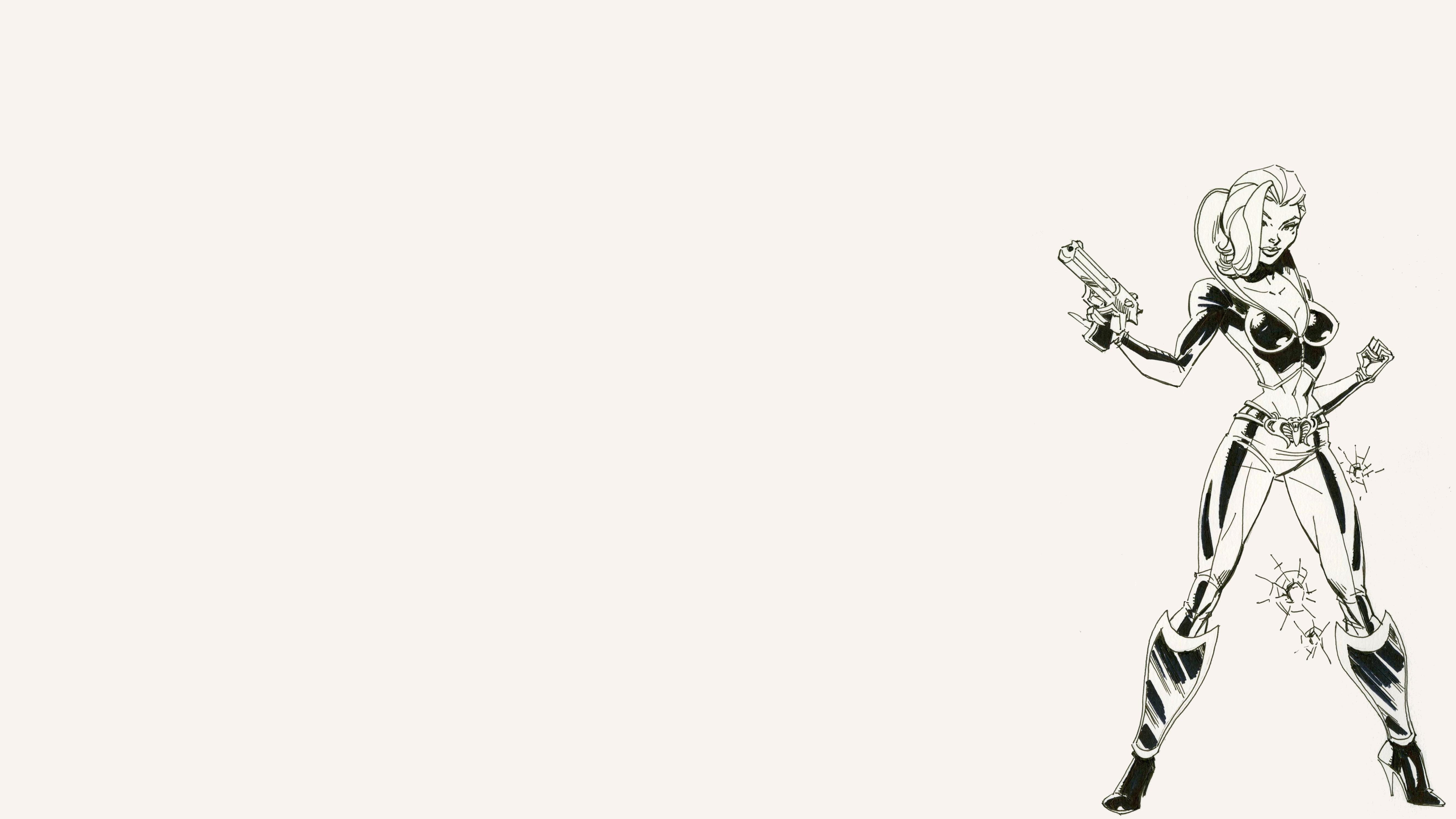 Danger Girl 5k Retina Ultra HD Wallpaper and Background ...