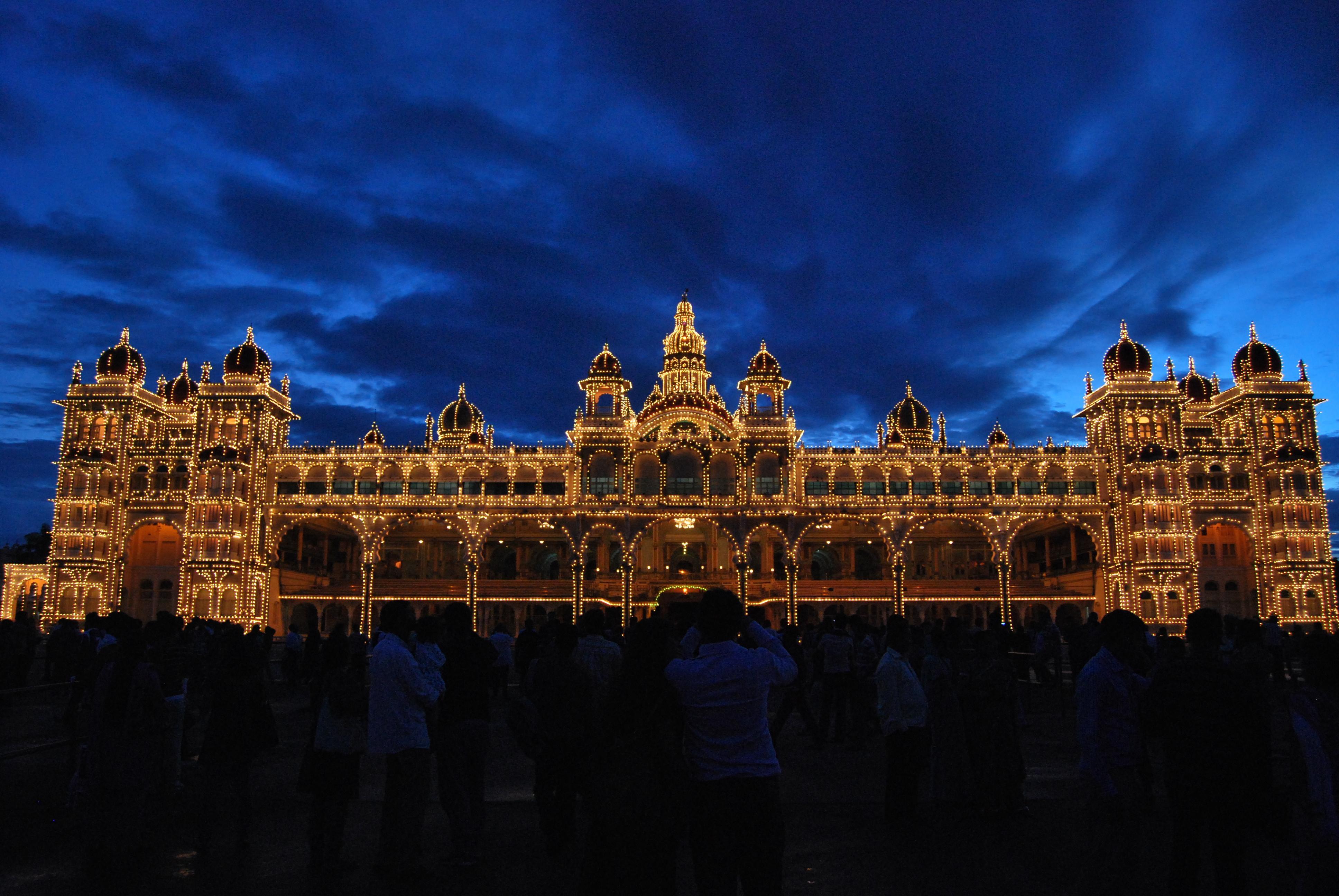 Mysore Palace,Karnataka State,India 4k Ultra HD Wallpaper