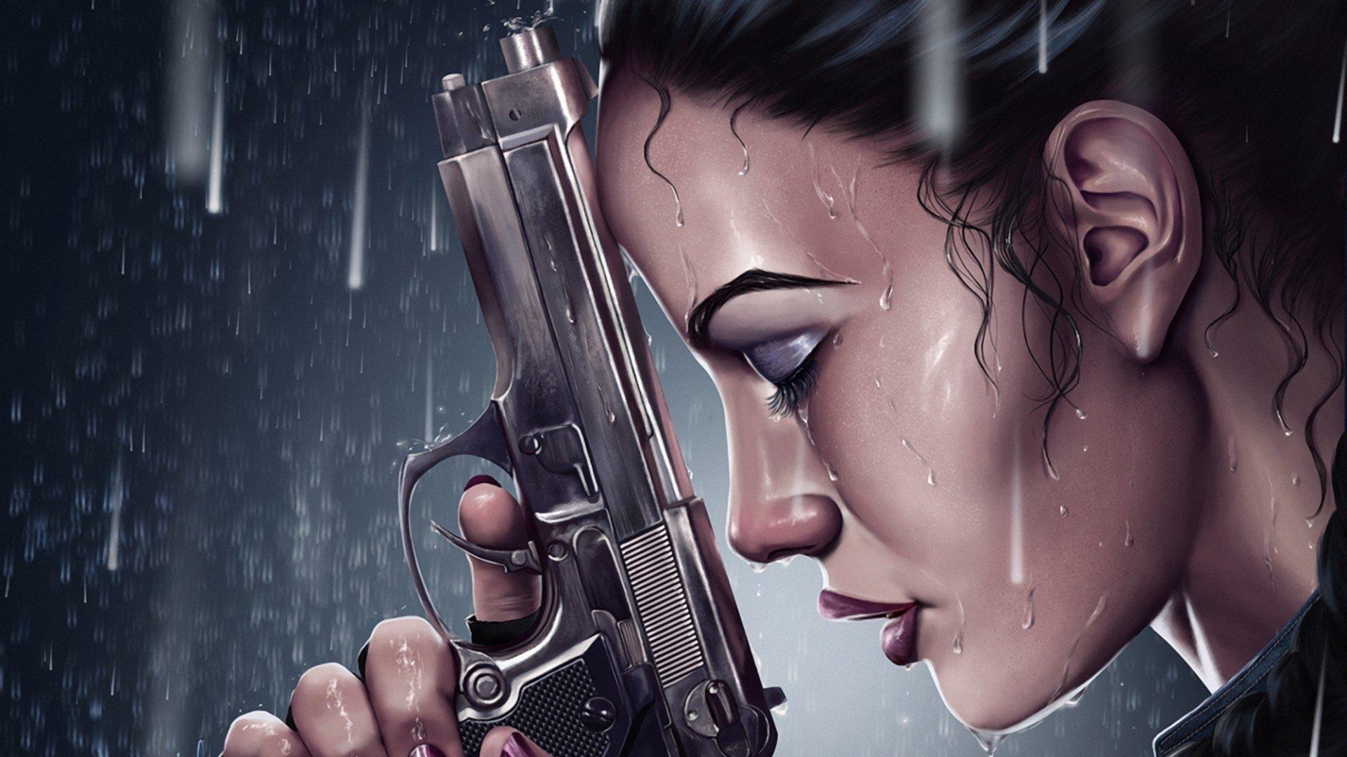 科幻 - 女战士  壁纸