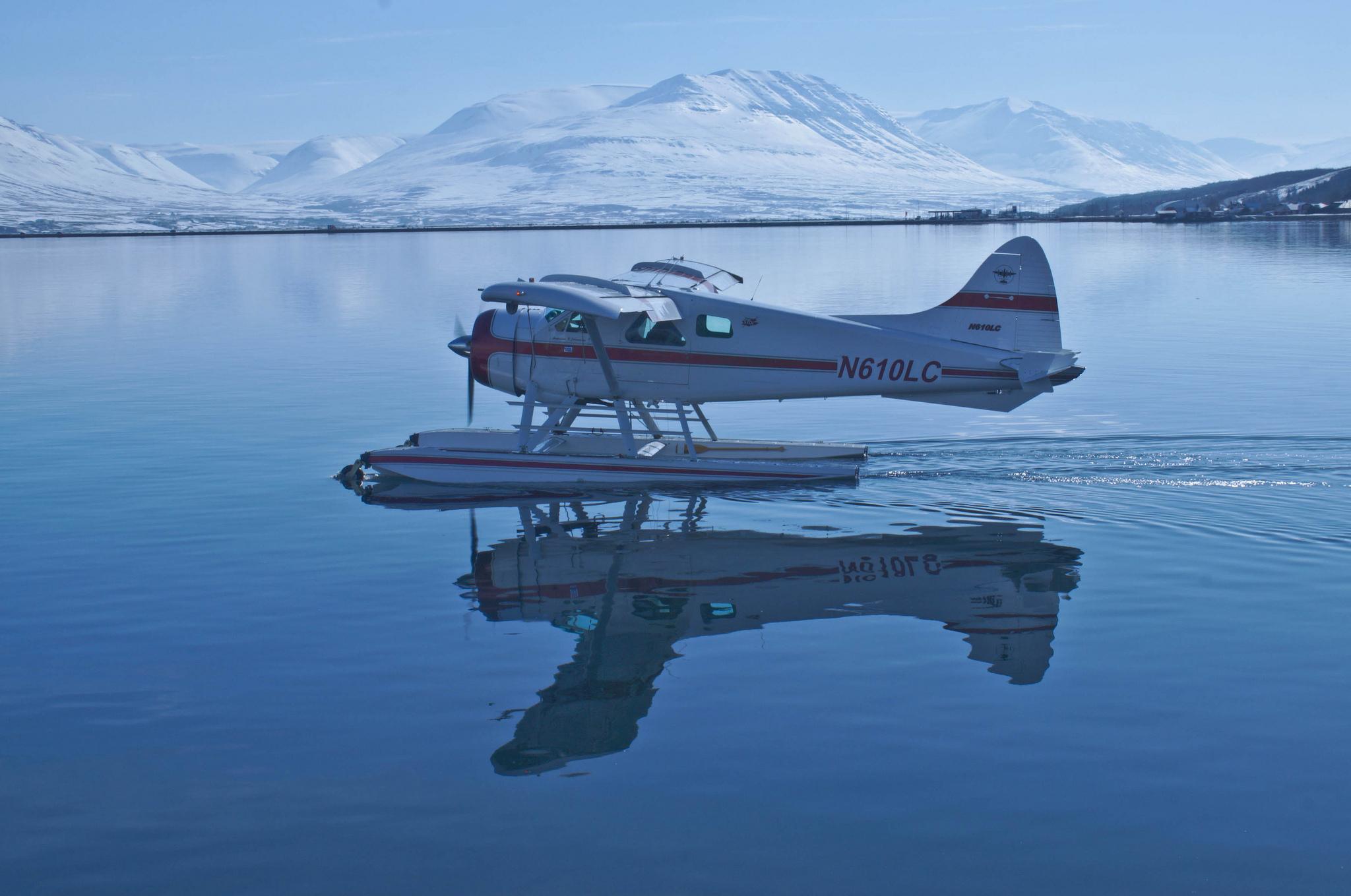 Обои амфибия, Bombardier, Самолёт, Вода. Авиация foto 14