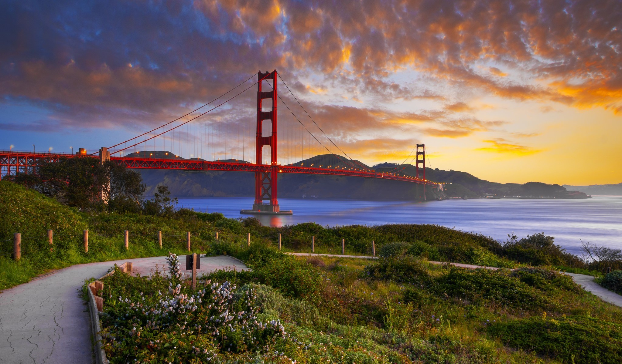 Golden gate hd wallpaper background image 2048x1200 id 541663 wallpaper abyss - San francisco hd ...