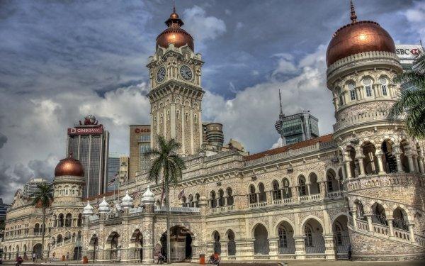 Man Made Sultan Abdul Samad Building Monuments Kuala Lumpur Malaysia HD Wallpaper | Background Image