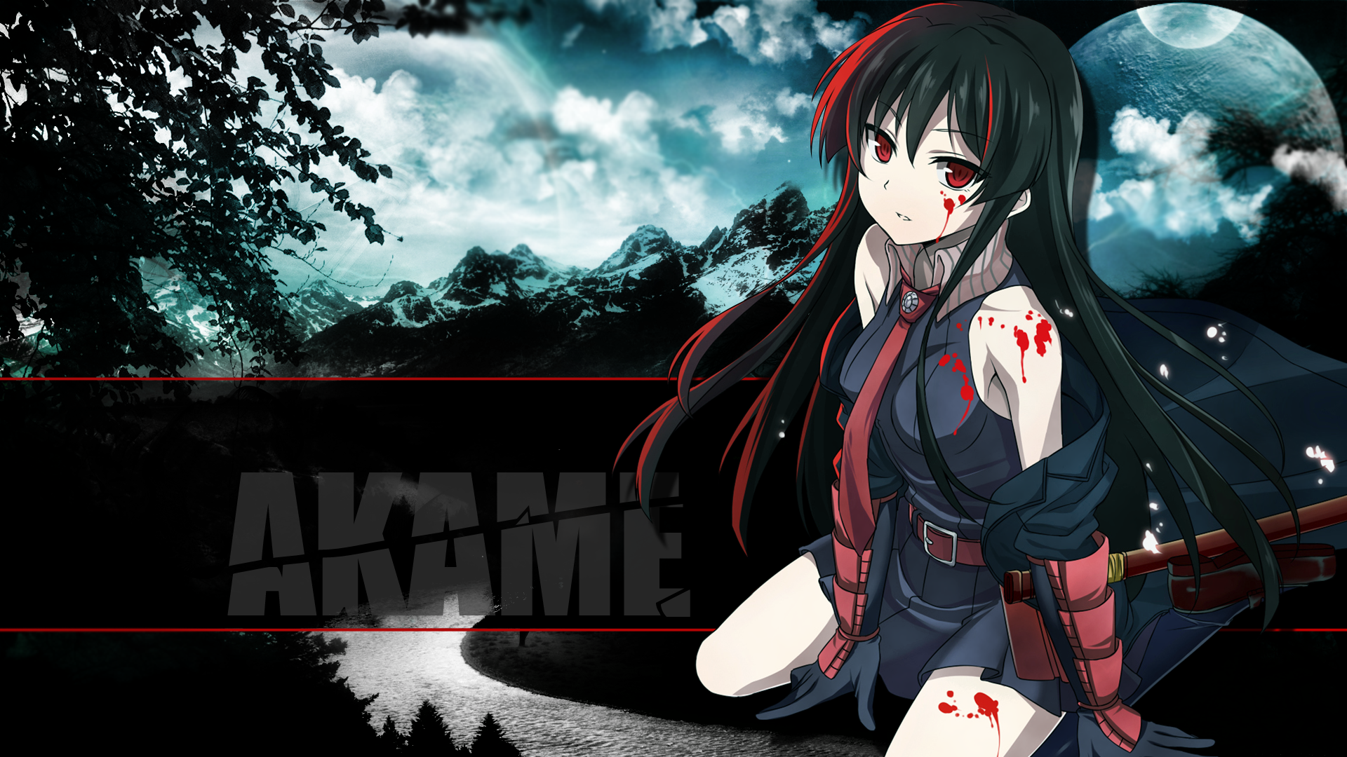 Anime Wallpapers Akame Ga Kill HD 4K Download For Mobile iPhone & PC