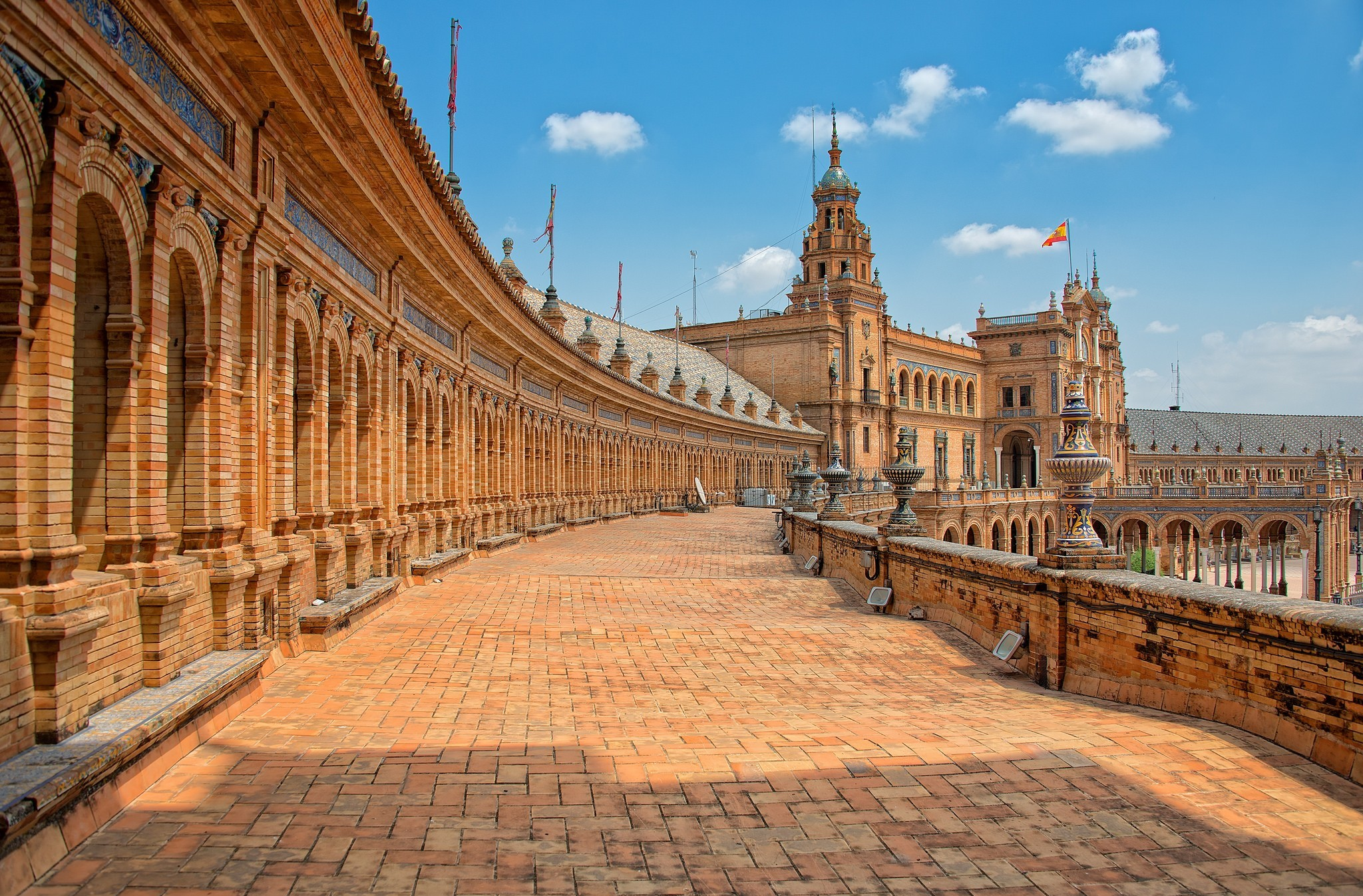 Plaza de espa a full hd wallpaper and background image for Place wallpaper
