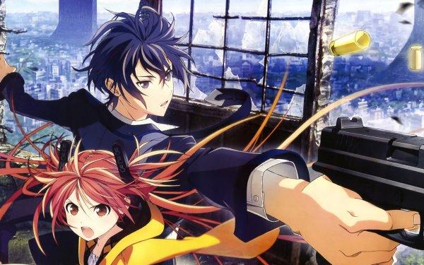 Anime Black Bullet Enju Aihara Rentaro Satomi HD Wallpaper | Background Image