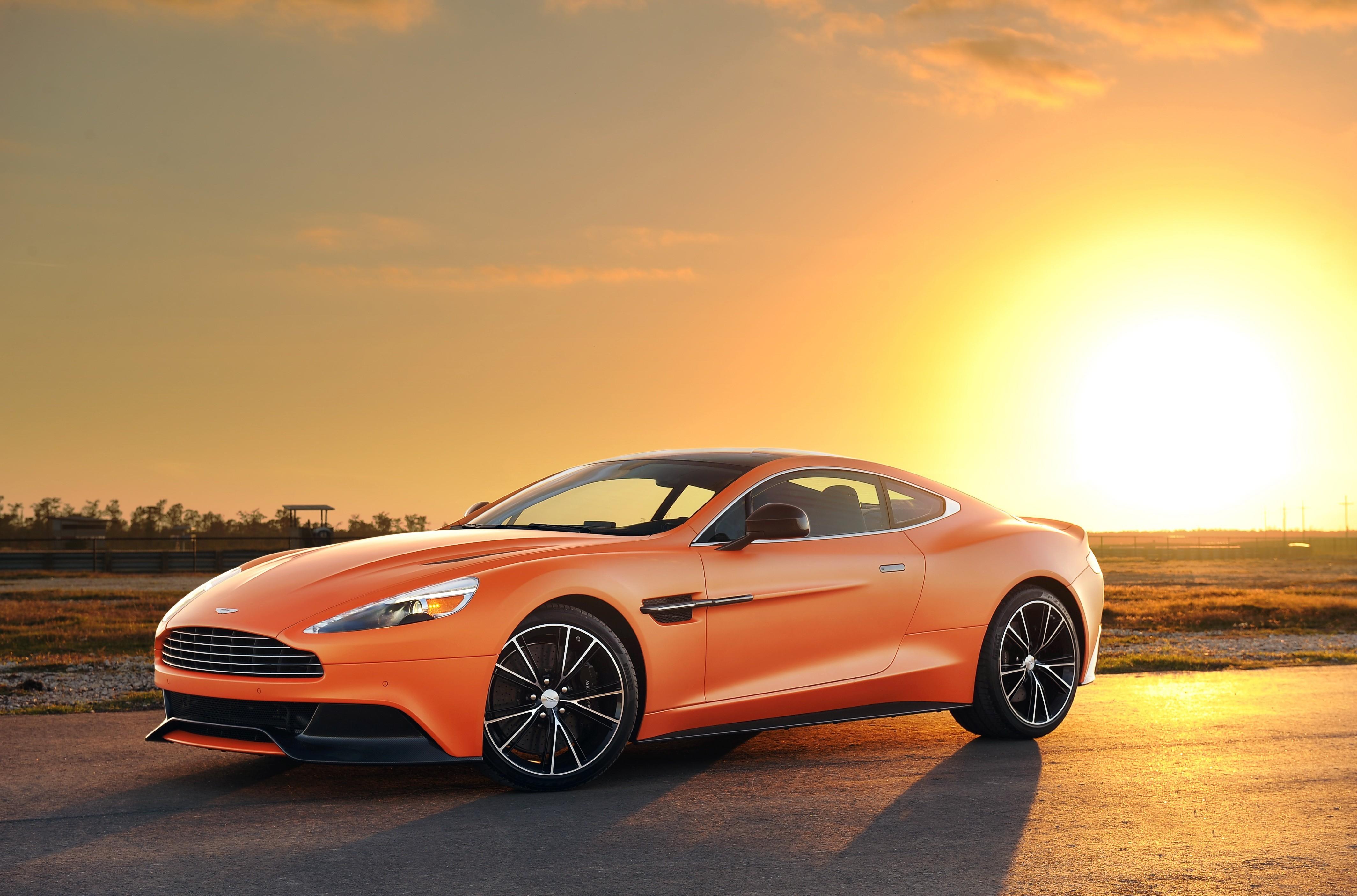 Aston Martin Vanquish 4k Ultra Hd Wallpaper Background