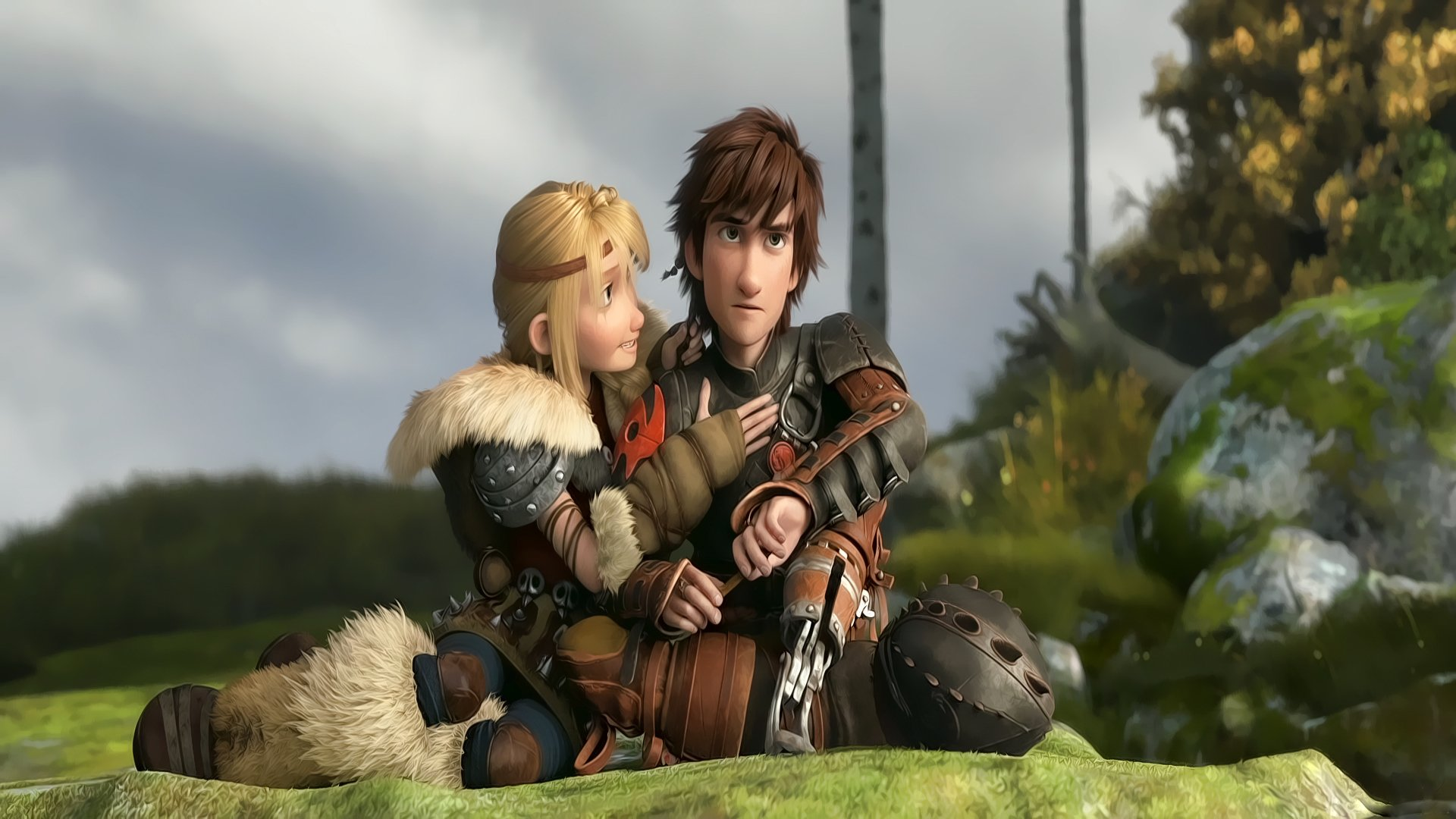 Astrid Hiccup How To Train Your Dragon 2 Stoick Toothless Valka HD Wallpaper