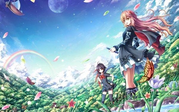 Anime Touhou Nue Houjuu Byakuren Hijiri HD Wallpaper   Background Image