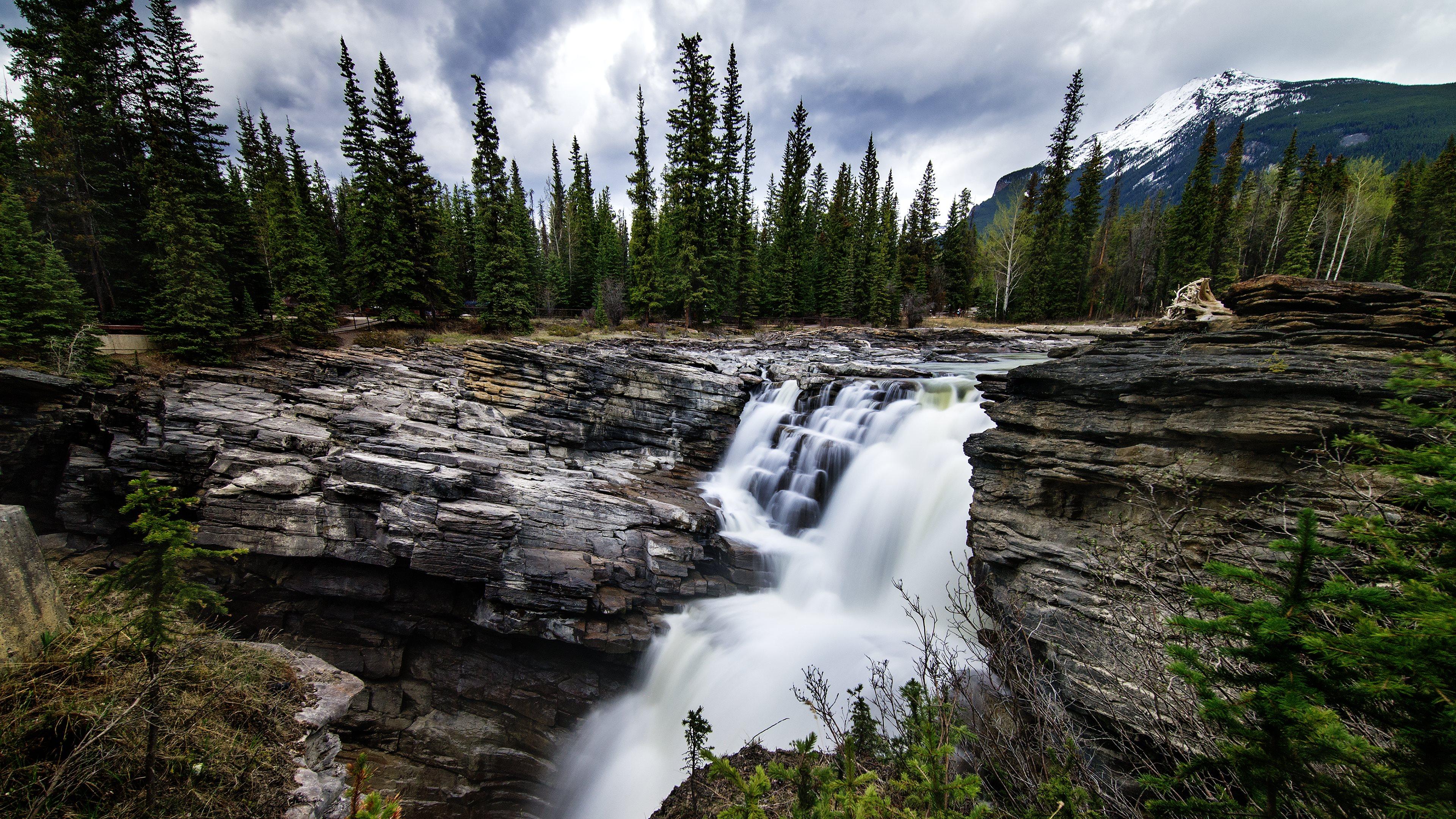 Waterfall 4k ultra hd wallpaper background image - Wallpaper hd 4k ...
