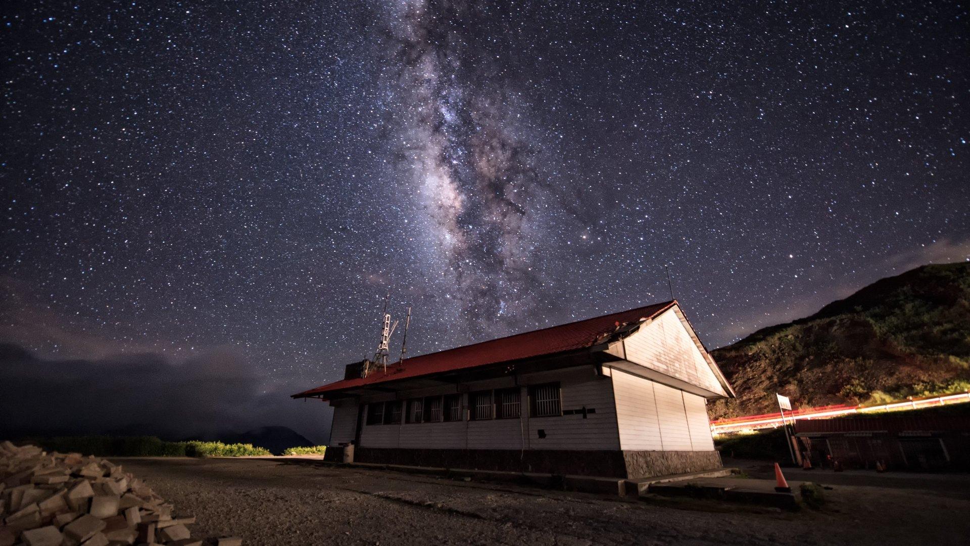 Sci Fi - Milky Way  Wallpaper