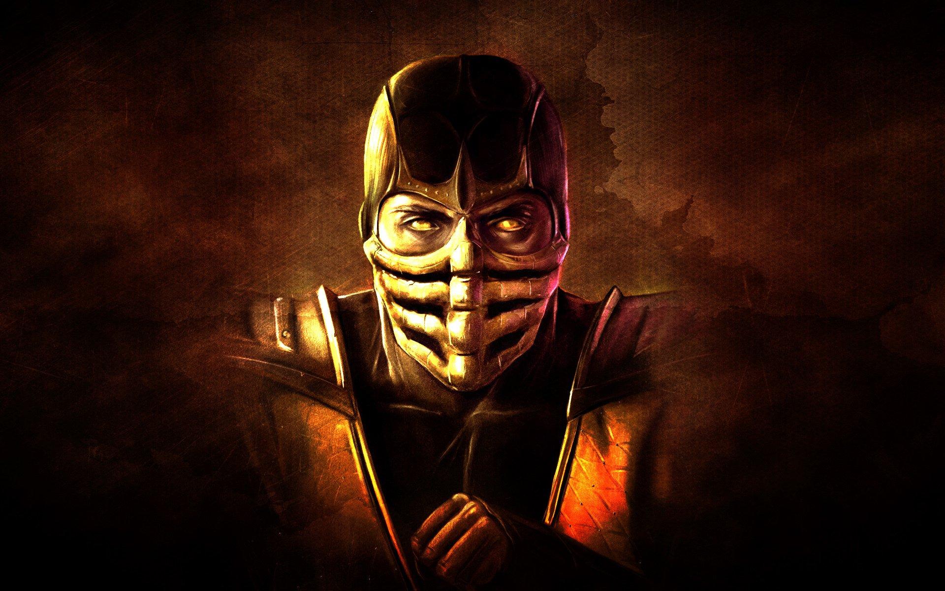 62 Scorpion Mortal Kombat Hd Wallpapers Background Images