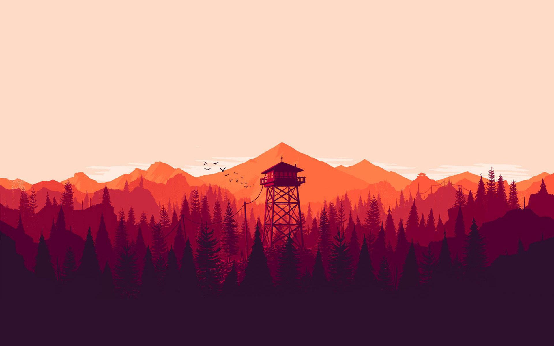 firewatch computer wallpapers desktop backgrounds