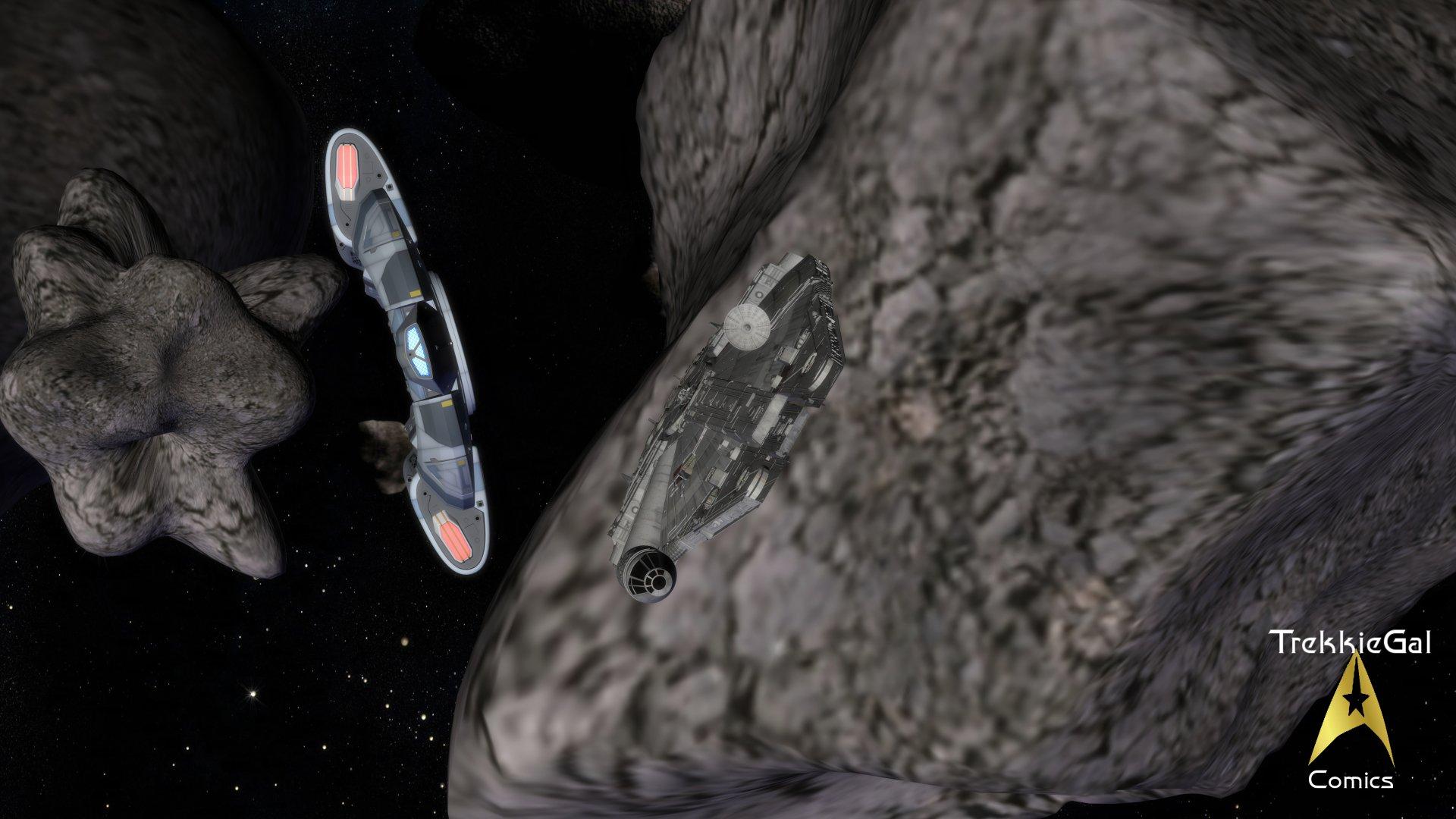 Sci Fi - Star Trek  Star Wars Wallpaper