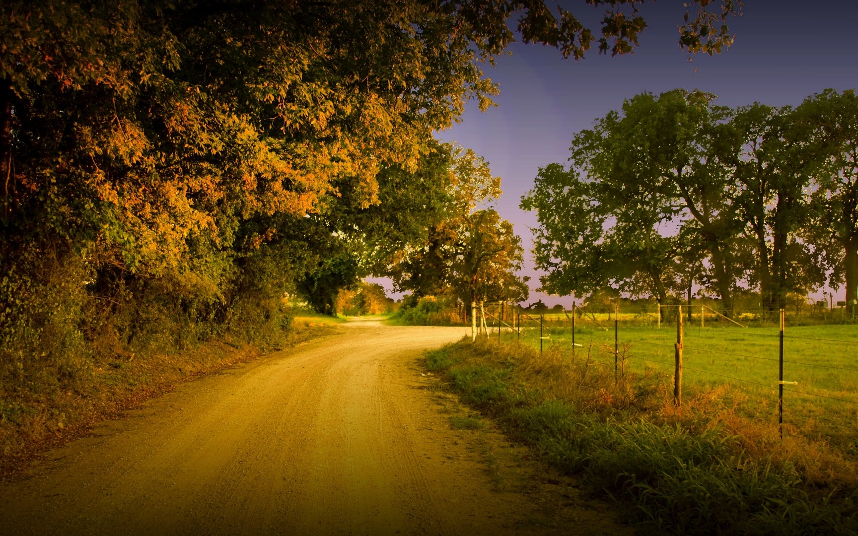 Country Road Wallpaper And Background Image