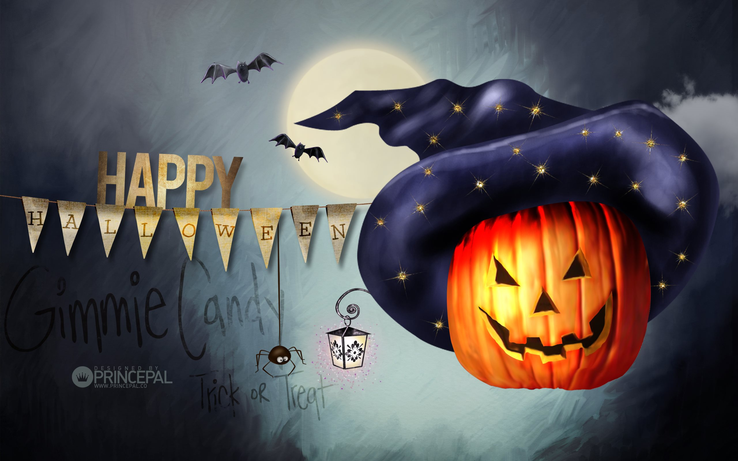Halloween Decoration Full HD Wallpaper And Background Image