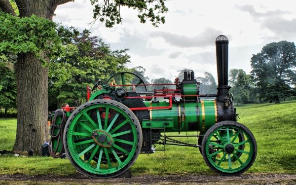 Vehicles Tractor Steam Tractor HD Wallpaper | Background Image