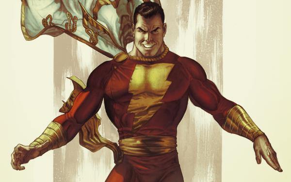Comics Shazam! HD Wallpaper | Background Image