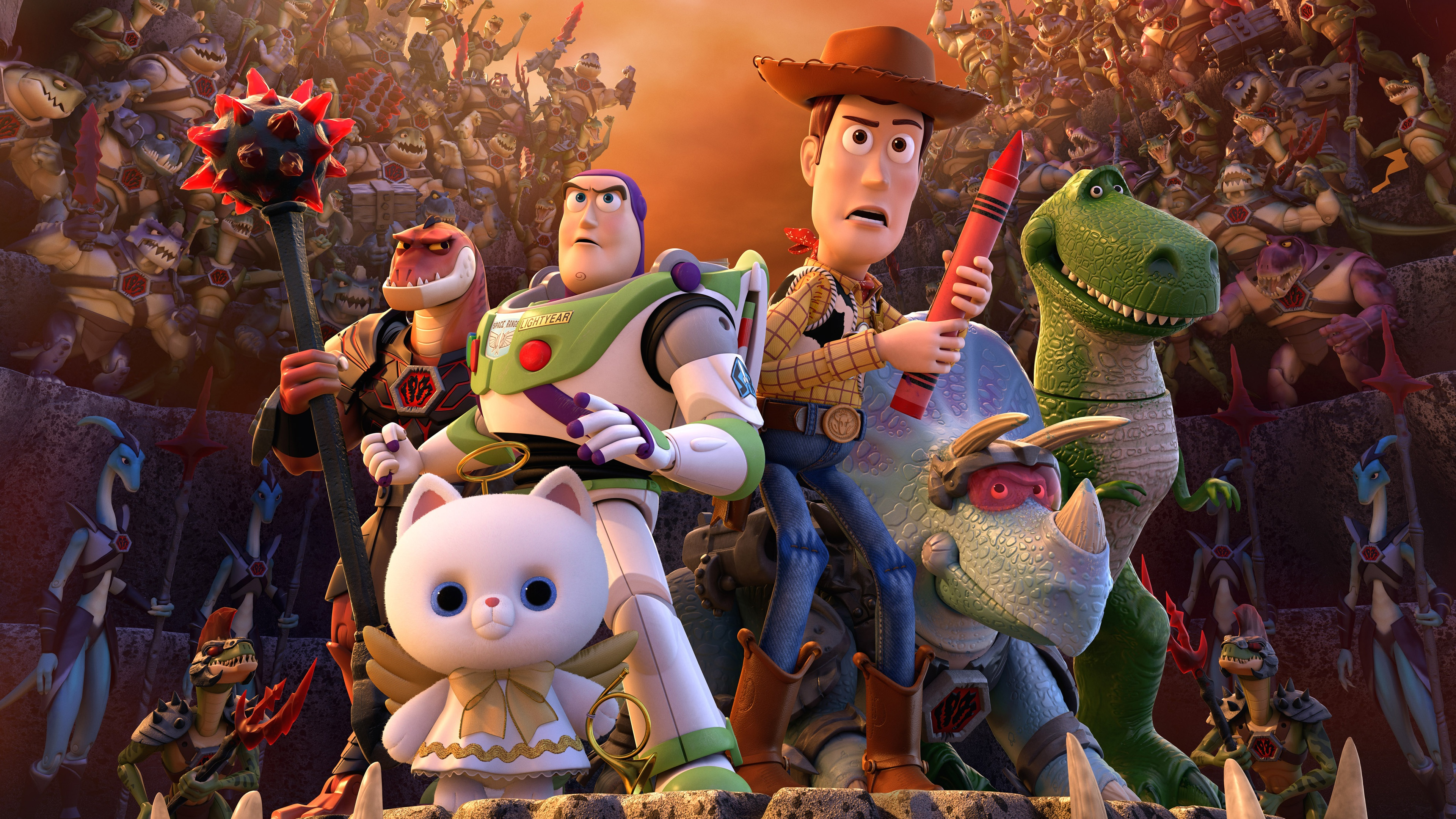 Toy Story That Time Forgot 4k Ultra Hd Wallpaper