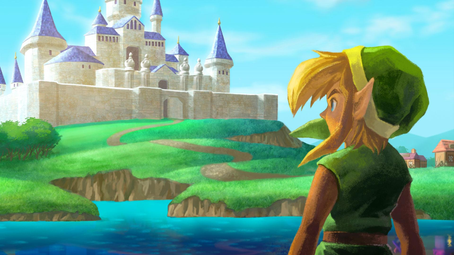 The Legend Of Zelda A Link Between Worlds Hd Wallpaper Background
