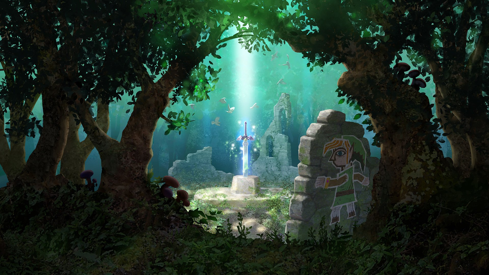 14 The Legend Of Zelda A Link Between Worlds Hd Wallpapers