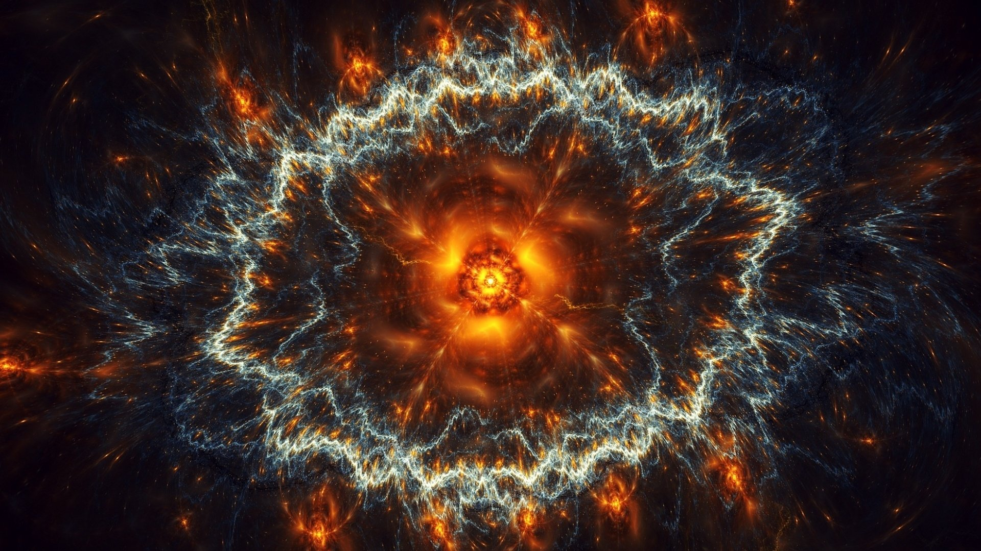 Supernova full hd wallpaper and background 1920x1080 for Space blast 3d