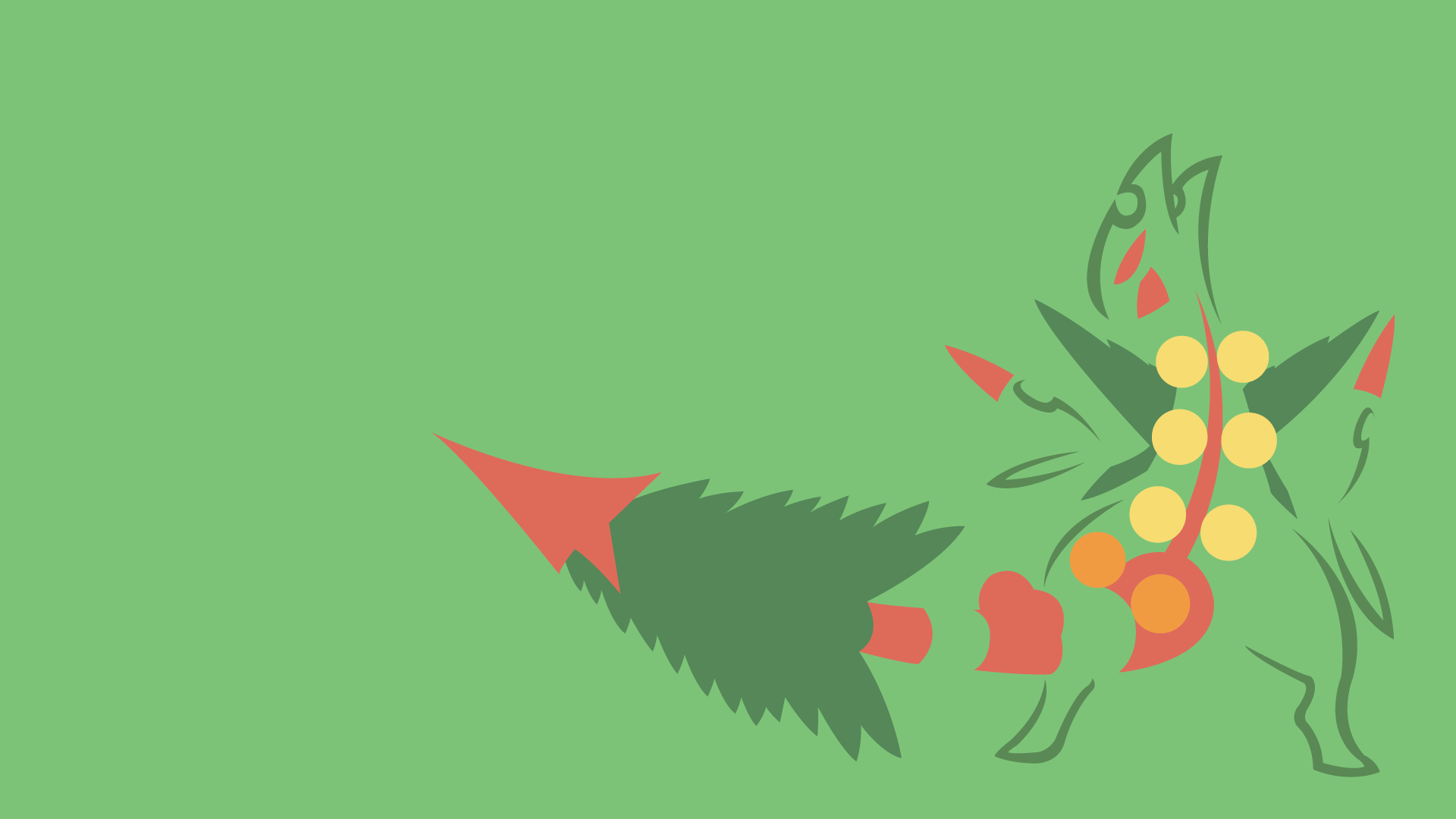 1 Mega Sceptile Hd Wallpapers Background Images Wallpaper Abyss