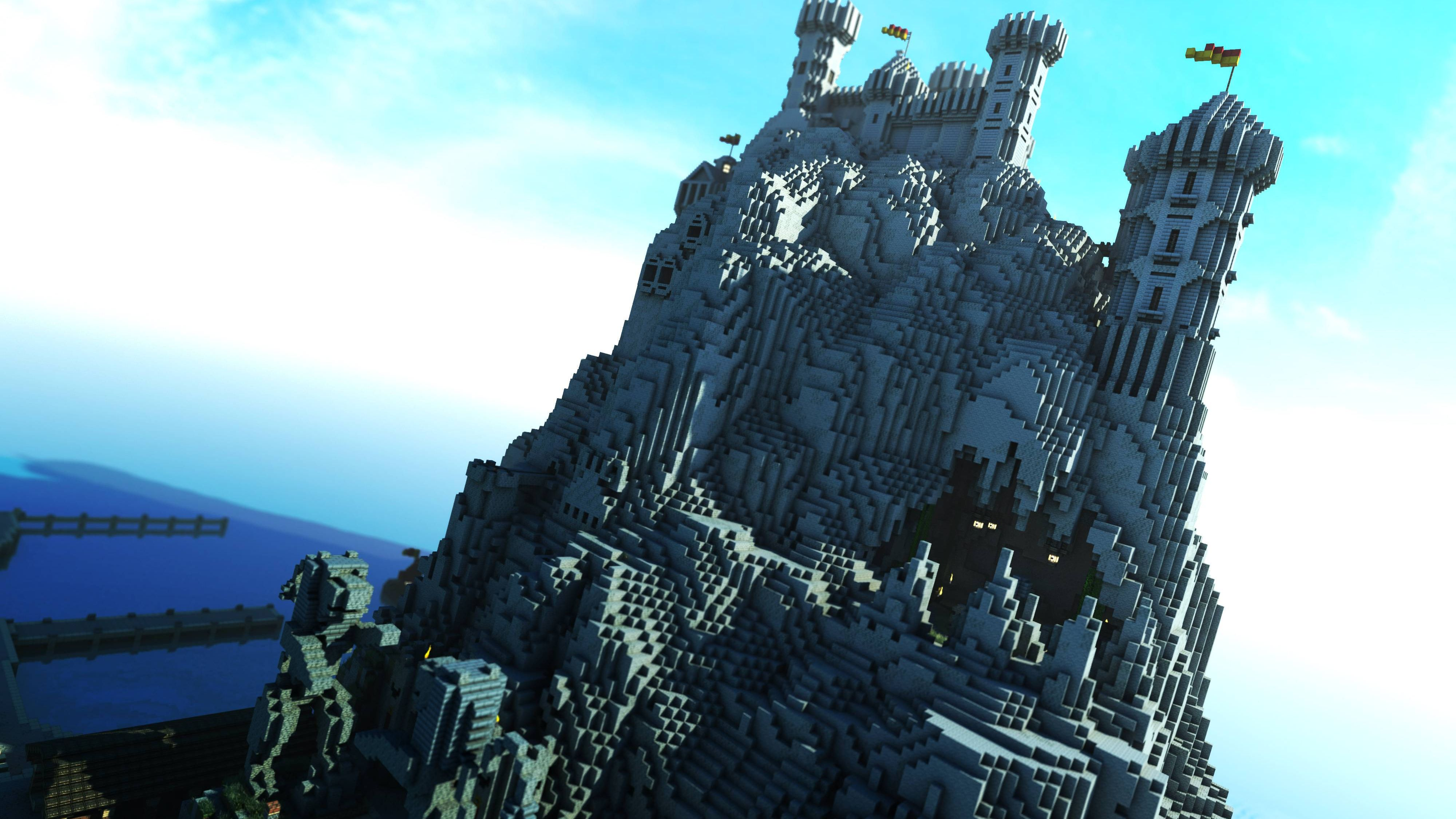 64 4k Ultra Hd Minecraft Wallpapers Background Images Wallpaper