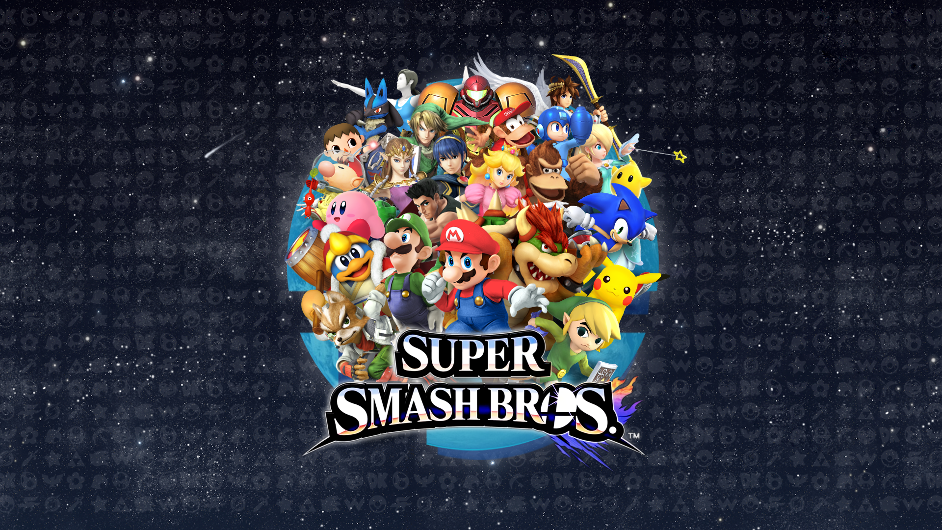 Super Smash Bros For Nintendo 3DS And Wii U Full HD Wallpaper