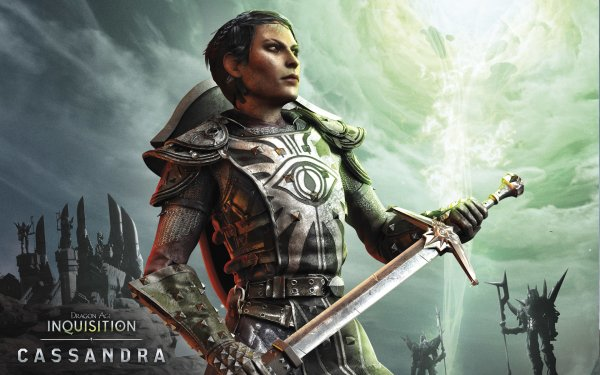 Video Game Dragon Age: Inquisition Dragon Age Cassandra Pentaghast HD Wallpaper | Background Image