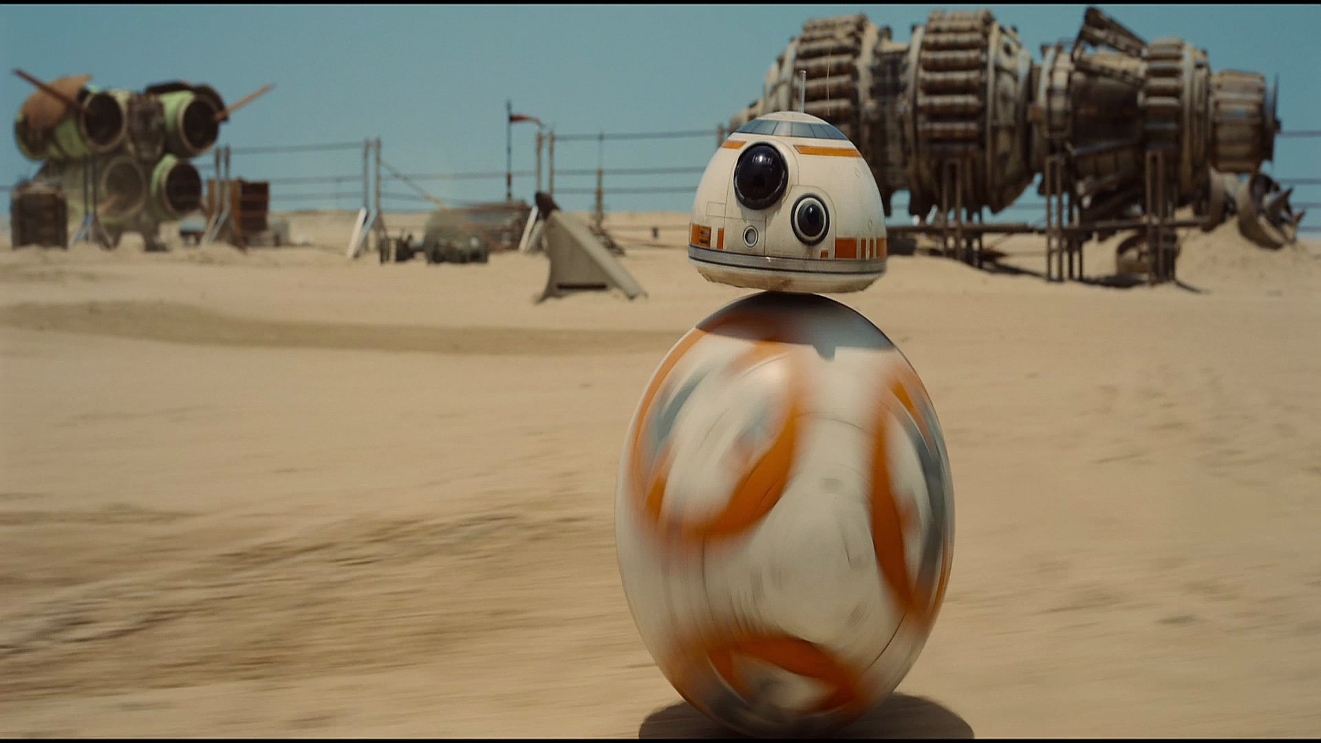 Bb 8 Droid From The Force Awakens Hd Wallpaper Background Image