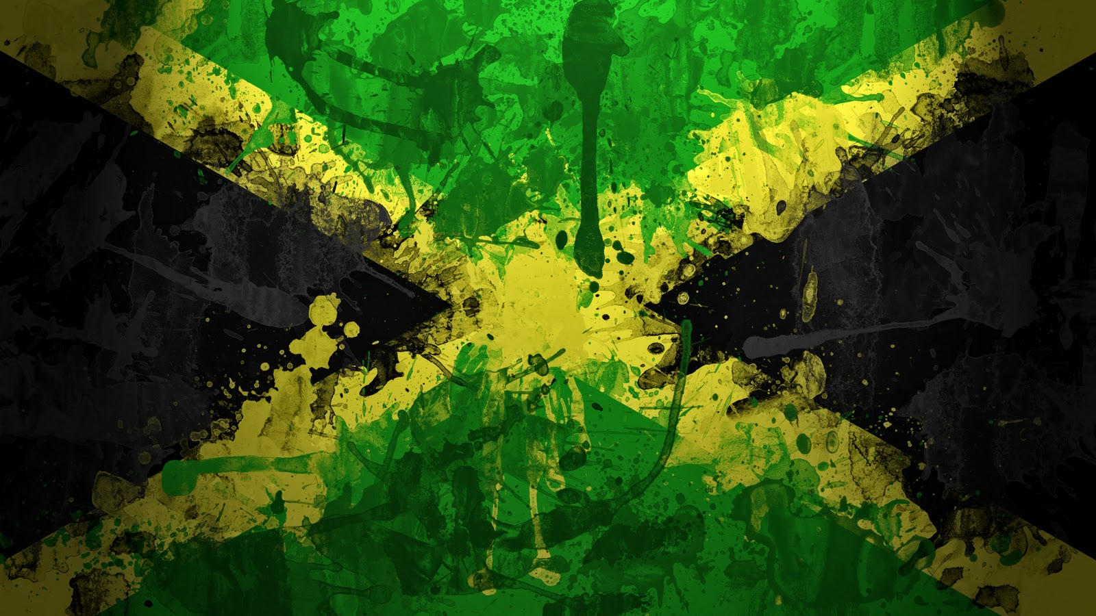 Flag Of Jamaica Wallpaper And Background Image
