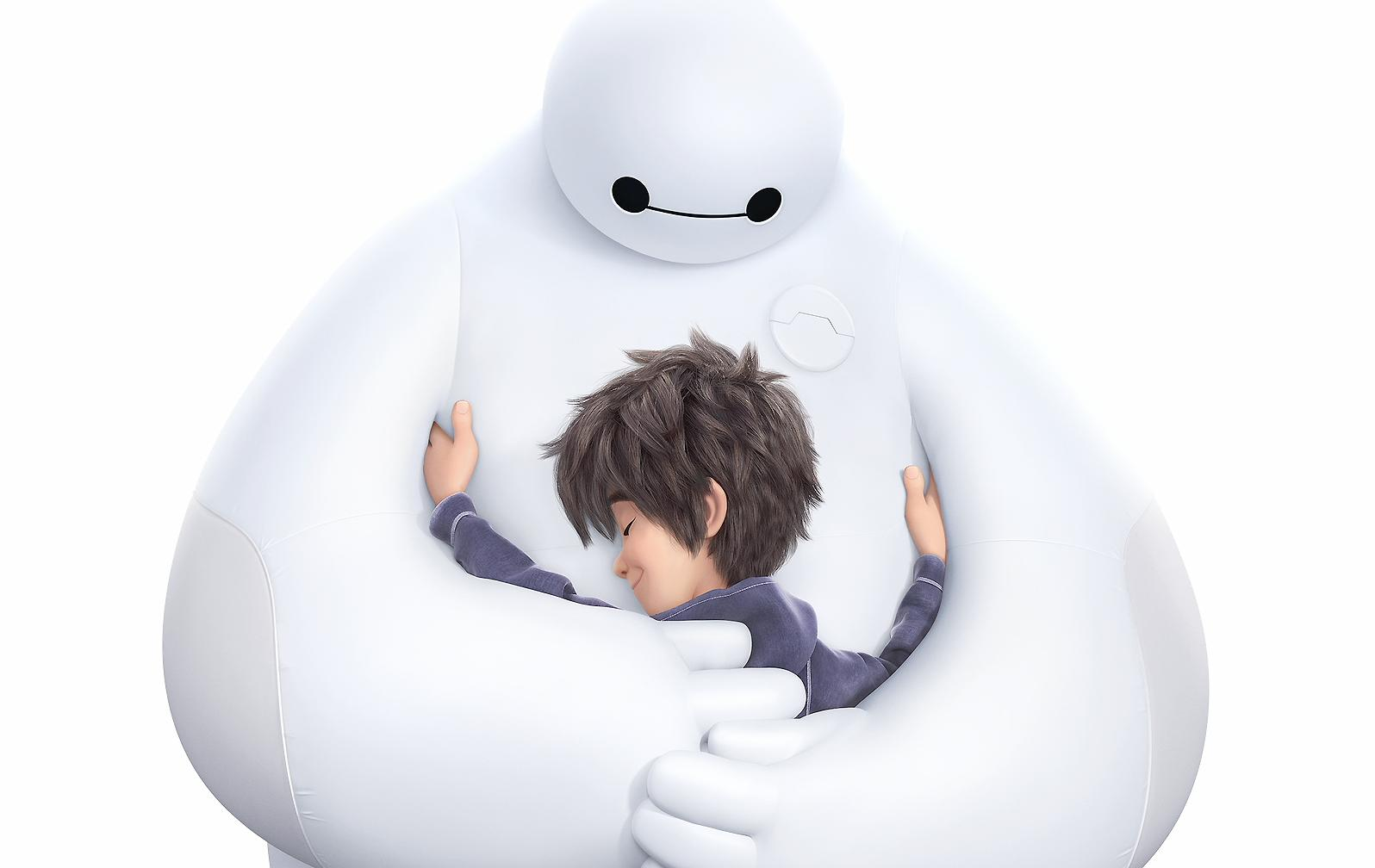 Hiro and Baymax Wallpaper and Background Image | 1596x1008