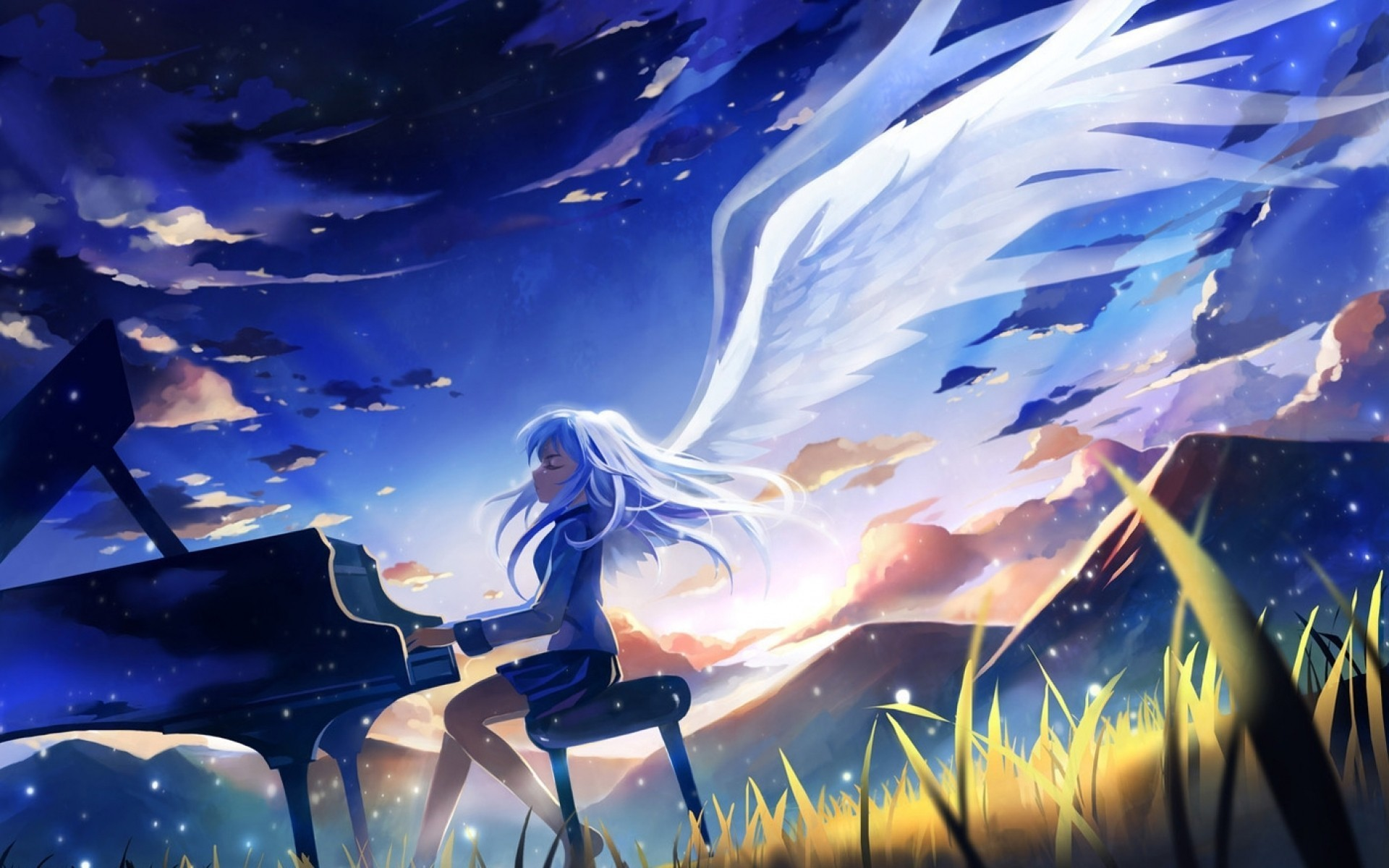 Angel beats full hd wallpaper and background image 1920x1200 anime angel beats kanade tachibana wallpaper voltagebd
