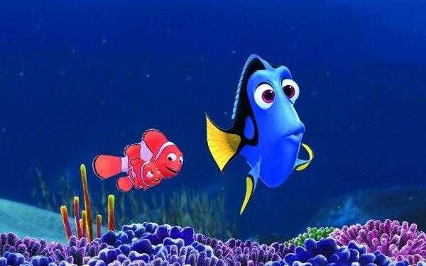Movie Finding Dory Disney Pixar Nemo Dory Marlin Clownfish Fish HD Wallpaper | Background Image