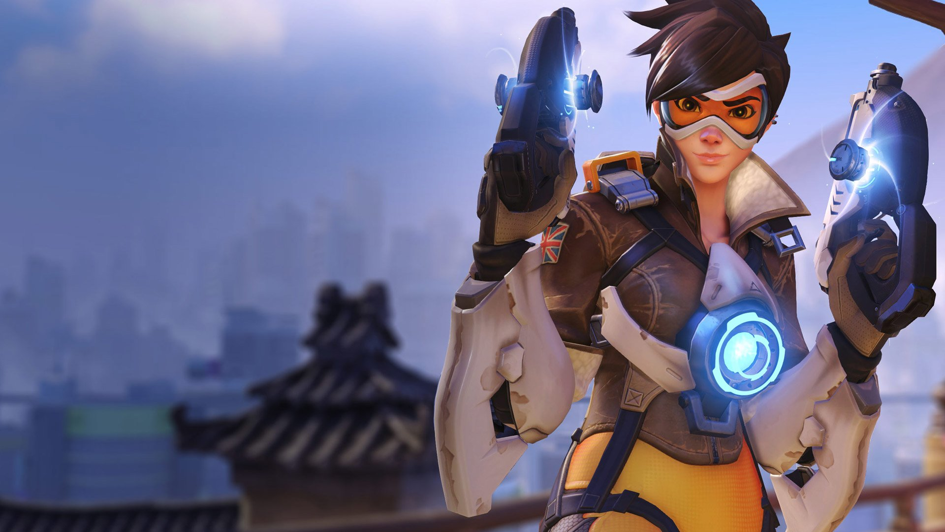 452 Tracer Overwatch Hd Wallpapers Background Images