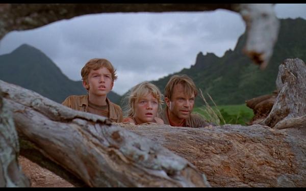Movie Jurassic Park Alan Grant Sam Neill Tim Murphy Lex Murphy HD Wallpaper | Background Image