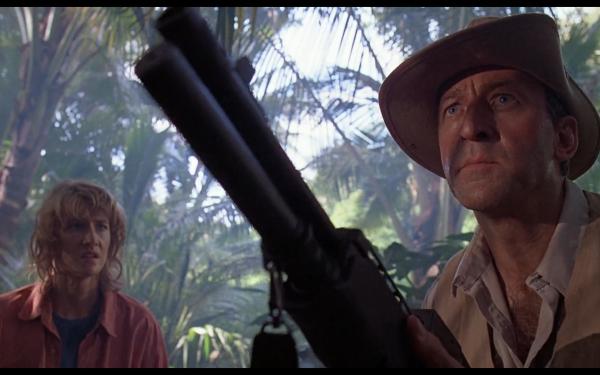 Movie Jurassic Park Robert Muldoon Ellie Sattler Laura Dern Bob Peck HD Wallpaper | Background Image