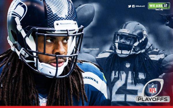 Sports Seattle Seahawks Football Richard Sherman Playoffs Seattle HD Wallpaper | Background Image